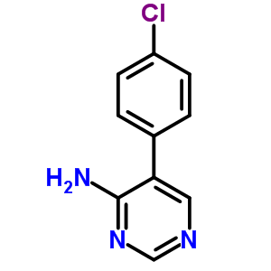 35202-25-6 5-(4-chlorophenyl)pyrimidin-4-amine