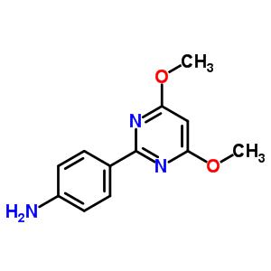 387350-86-9 4-(4,6-dimethoxypyrimidin-2-yl)aniline