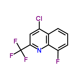 401567-85-9 4-Chloro-8-fluoro-2-(trifluoromethyl)quinoline
