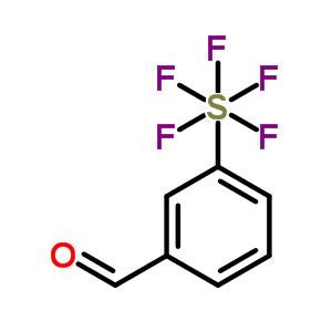 401892-80-6 3-(pentafluoro-lambda~6~-sulfanyl)benzaldehyde