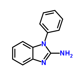 1H-Benzimidazol-2-amine, 1-phenyl- 43023-11-6