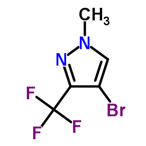 497832-99-2 4-bromo-1-methyl-3-(trifluoromethyl)-1H-pyrazole