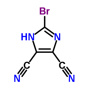 50847-09-1 2-bromo-1H-imidazole-4,5-dicarbonitrile