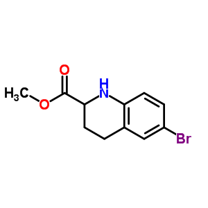 511230-72-1 methyl 6-bromo-1,2,3,4-tetrahydroquinoline-2-carboxylate