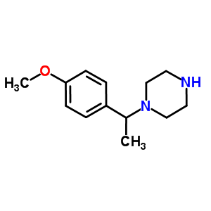 517856-55-2 1-[1-(4-methoxyphenyl)ethyl]piperazine