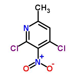 63897-12-1 2,4-dichloro-6-methyl-3-nitropyridine