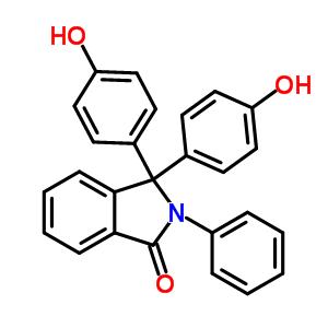 6607-41-6 3,3-bis(4-hydroxyphenyl)-2-phenyl-2,3-dihydro-1H-isoindol-1-one