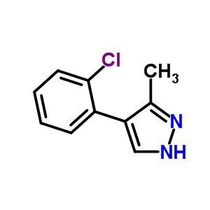 667400-39-7 4-(2-chlorophenyl)-5-methyl-1H-pyrazole