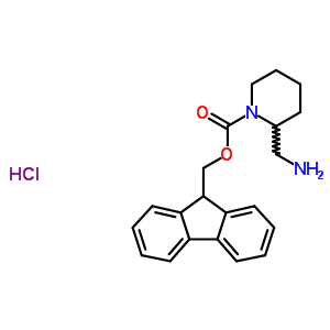 669713-55-7 9H-fluoren-9-ylmethyl 2-(aminomethyl)piperidine-1-carboxylate hydrochloride
