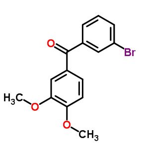 681469-97-6 (3-bromophenyl)(3,4-dimethoxyphenyl)methanone