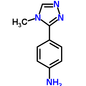 4-(4-Methyl-4H-1,2,4-triazol-3-yl)aniline 690632-18-9