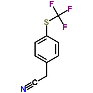 70124-90-2 {4-[(trifluoromethyl)sulfanyl]phenyl}acetonitrile