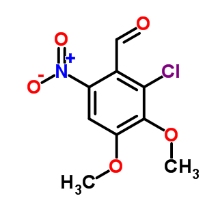 82330-54-9 2-chloro-3,4-dimethoxy-6-nitrobenzaldehyde