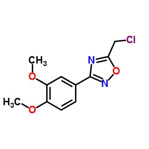 91066-47-6 5-(chloromethyl)-3-(3,4-dimethoxyphenyl)-1,2,4-oxadiazole