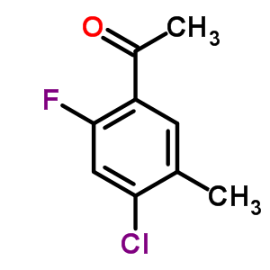 177211-26-6 1-(4-Chloro-2-fluoro-5-methylphenyl)ethanone
