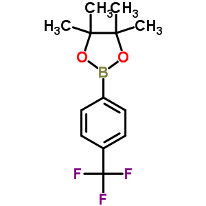 214360-65-3 4,4,5,5-tetramethyl-2-[4-(trifluoromethyl)phenyl]-1,3,2-dioxaborolane