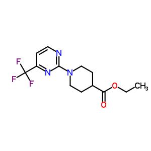 215654-84-5 ethyl 1-[4-(trifluoromethyl)pyrimidin-2-yl]piperidine-4-carboxylate