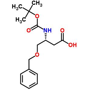 218943-31-8 (3R)-4-(benzyloxy)-3-[(tert-butoxycarbonyl)amino]butanoic acid