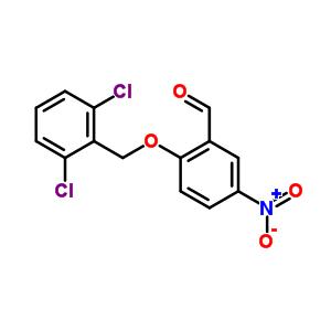 219539-46-5 2-[(2,6-dichlorobenzyl)oxy]-5-nitrobenzaldehyde