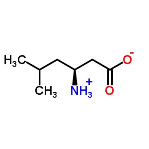 22818-43-5;3653-34-7 (3S)-3-amino-5-methylhexanoic acid