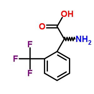 240490-00-0 (2S)-amino[2-(trifluoromethyl)phenyl]ethanoic acid