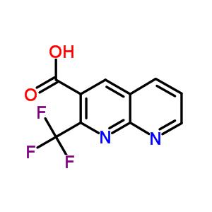 2-(三氟甲基)-1,8-萘啶-3-羧酸 241154-08-5