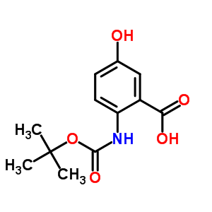 2-叔丁氧基羰氨基-5-羟基苯甲酸 244765-00-2