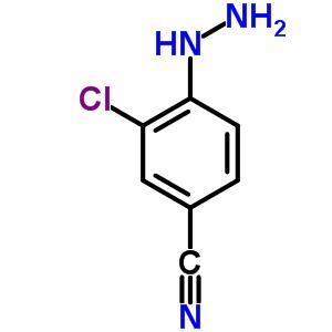 254880-25-6 3-chloro-4-hydrazinobenzonitrile