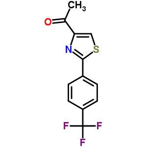 263564-37-0 1-{2-[4-(trifluoromethyl)phenyl]-1,3-thiazol-4-yl}ethanone