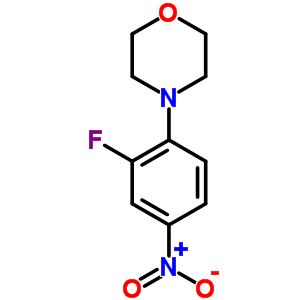 2689-39-6 4-(2-Fluoro-4-nitrophenyl)morpholine