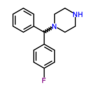 27064-89-7 1-[(4-fluorophenyl)(phenyl)methyl]piperazine