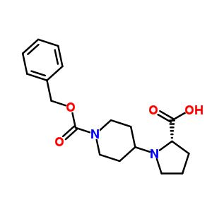 L-N-(4'-N-Cbz-哌啶基)脯氨酸 289677-06-1
