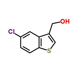 (5-氯-1-苯并噻吩-3-基)甲醇 306934-93-0