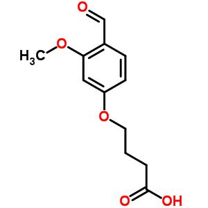 309964-23-6 4-(4-formyl-3-methoxyphenoxy)butanoic acid