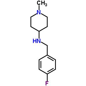 359878-47-0 N-(4-fluorobenzyl)-1-methylpiperidin-4-amine