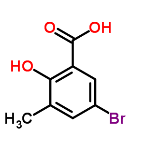 36194-82-8 5-bromo-2-hydroxy-3-methylbenzoic acid