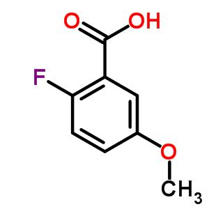 2-氟-5-甲氧基苯甲酸 367-83-9