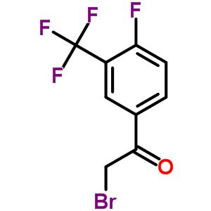 537050-14-9 2-Bromo-1-[4-fluoro-3-(trifluoromethyl)phenyl]ethanone