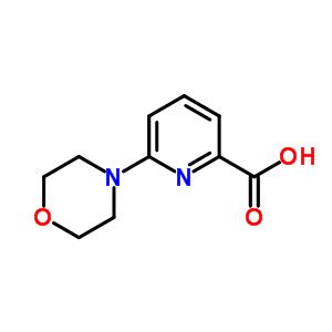 554405-17-3 6-(morpholin-4-yl)pyridine-2-carboxylic acid