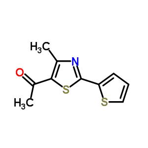 56421-61-5 1-(4-methyl-2-thiophen-2-yl-1,3-thiazol-5-yl)ethanone
