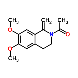 57621-04-2 2-acetyl-6,7-dimethoxy-1-methylidene-1,2,3,4-tetrahydroisoquinoline