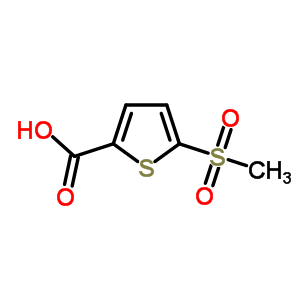 60166-86-1 5-(methylsulfonyl)thiophene-2-carboxylic acid