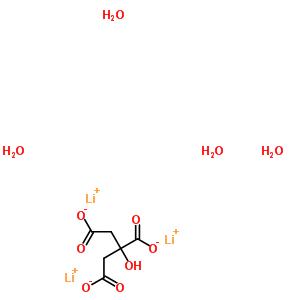 柠檬酸锂 6080-58-6