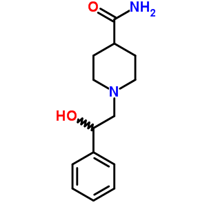 681801-45-6 1-(2-hydroxy-2-phenylethyl)piperidine-4-carboxamide