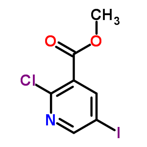 78686-83-6 methyl 2-chloro-5-iodopyridine-3-carboxylate