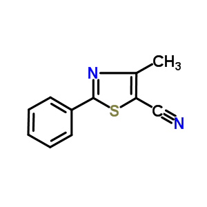 830330-33-1 4-methyl-2-phenyl-thiazole-5-carbonitrile