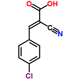 20374-46-3 (2E)-3-(4-chlorophenyl)-2-cyanoprop-2-enoate