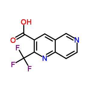 240408-97-3 2-(trifluoromethyl)-1,6-naphthyridine-3-carboxylic acid