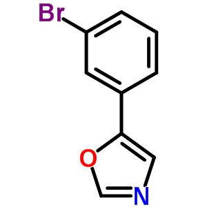243455-57-4 5-(3-bromophenyl)-1,3-oxazole