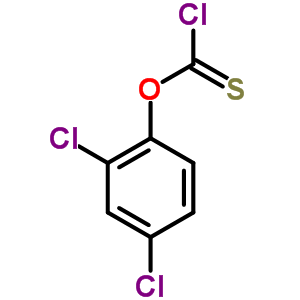 2,4-二氯苯基硫代氯甲酸酯 2812-86-4